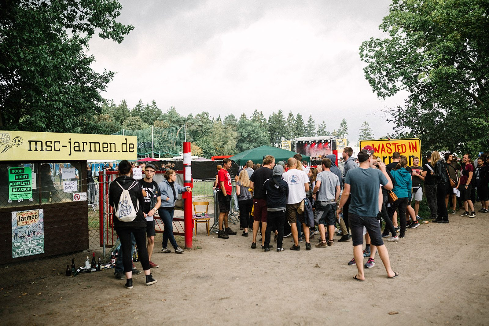 Wasted in Jarmen open air