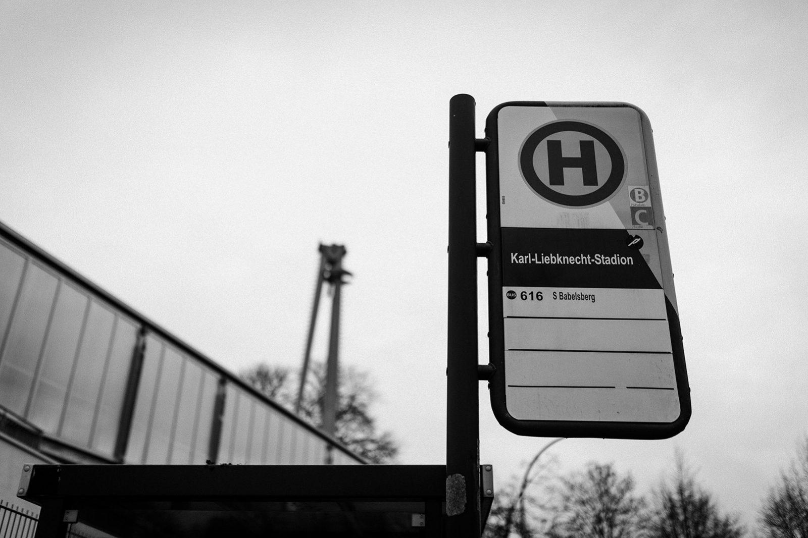 Haltestelle Karl-Liebknecht-Stadion