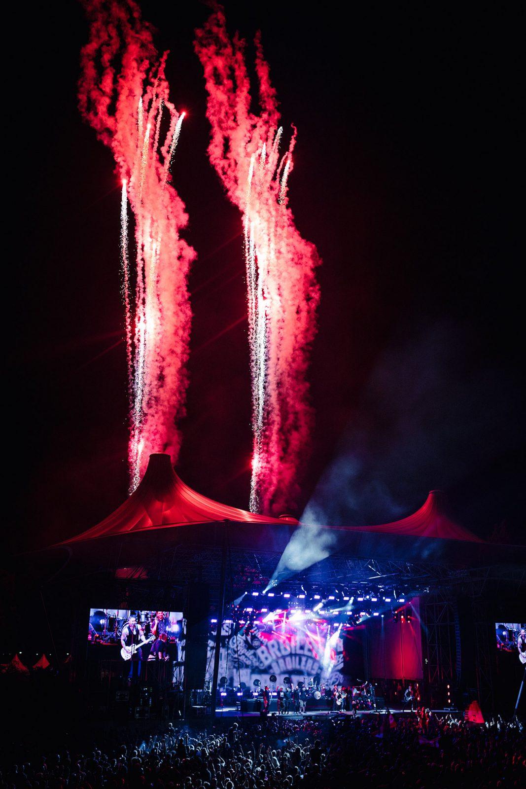 Broilers Feuerwerk